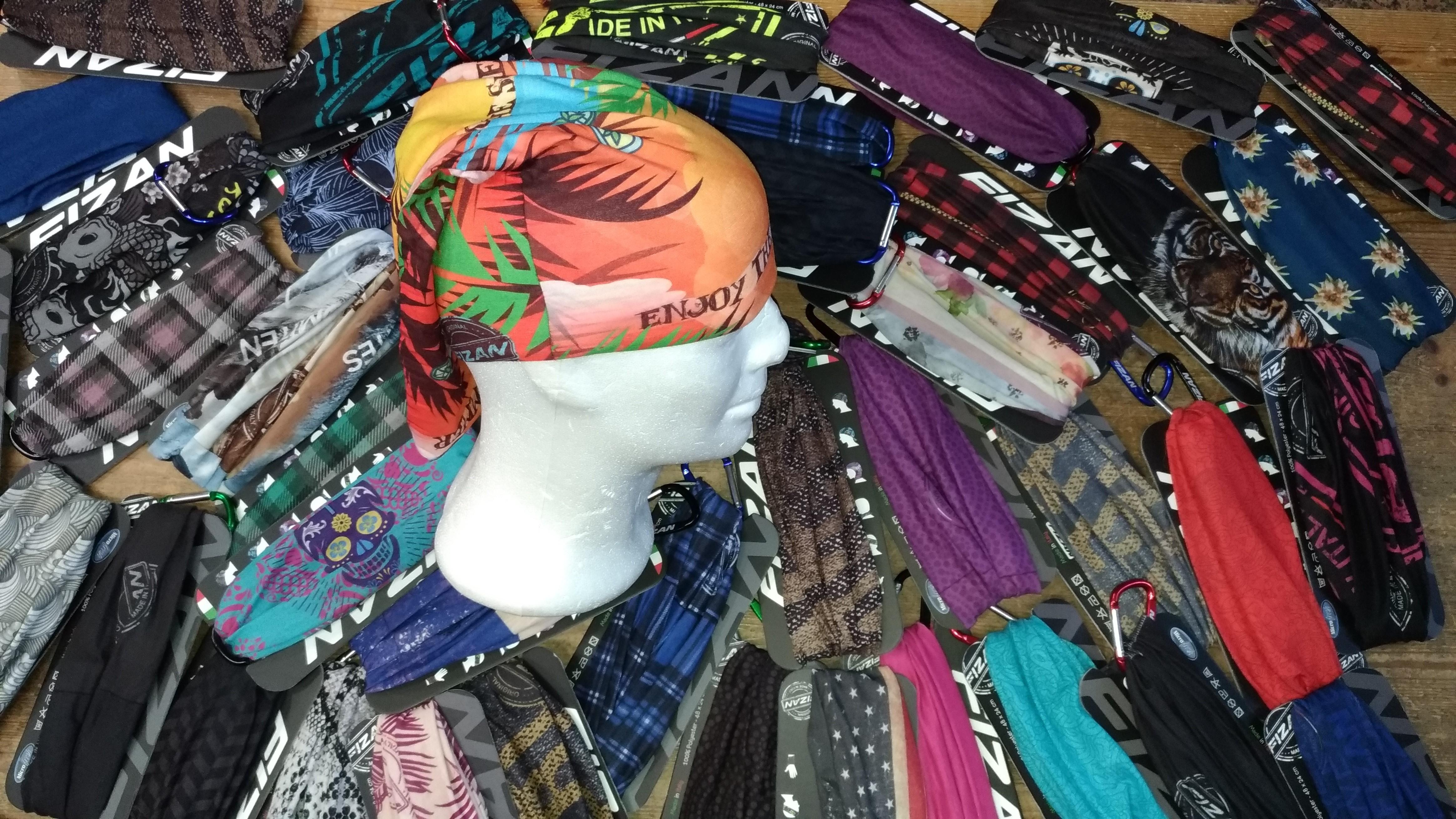 Bandane - Baffin FIZAN multifunzione e tantissimi colori !